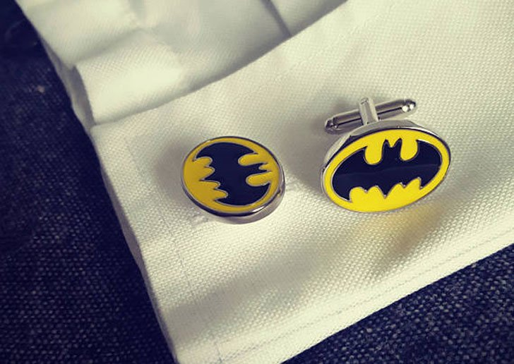 Black Dark Knight Cufflinks - cool cufflinks