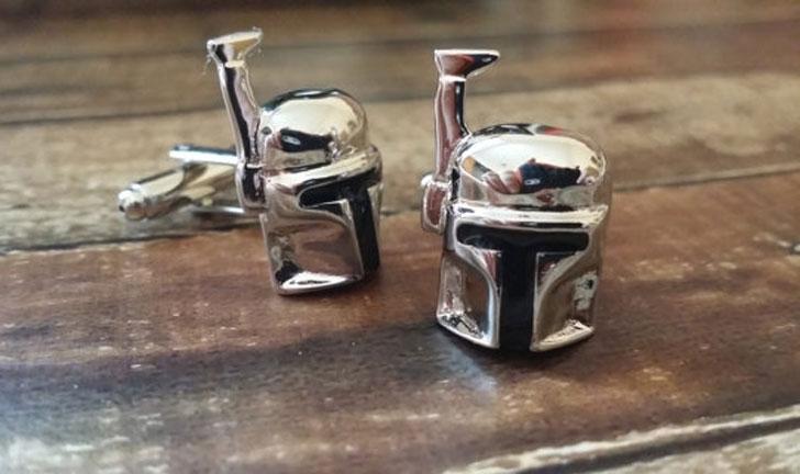 Boba Fett Cufflinks - cool cufflinks