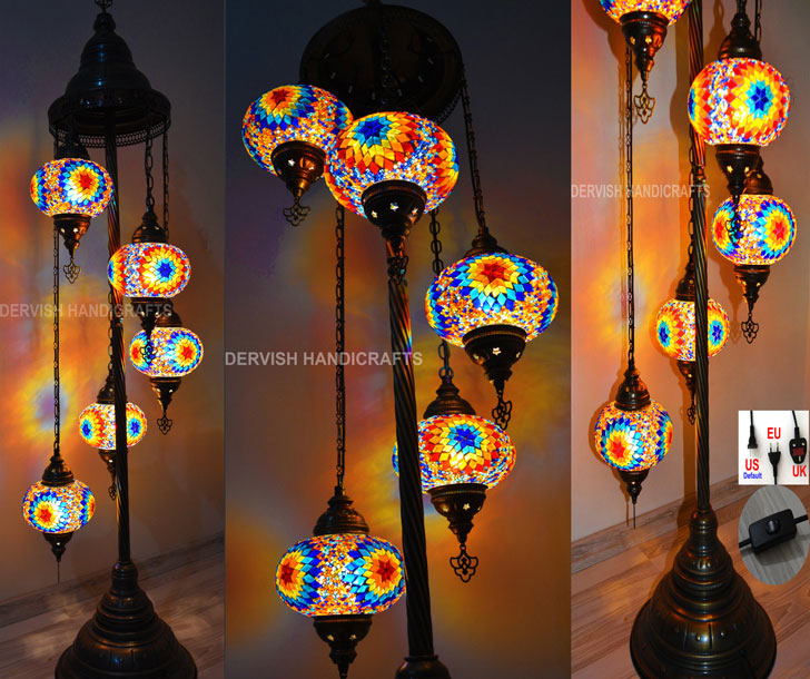 Bohemian Style Floor Lamp