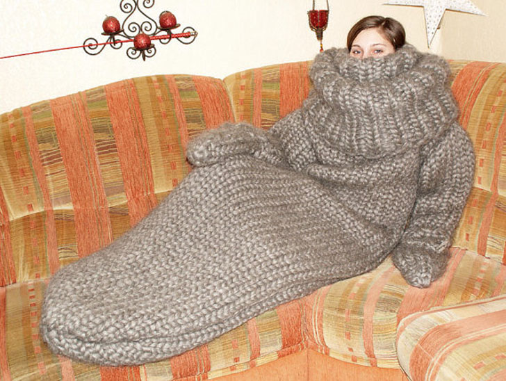 Chunky Turtleneck Sleeping Bag