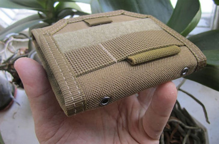 Cordura Coyote-Brown Tactical Wallet