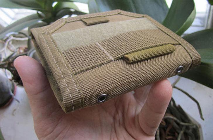 Cordura Coyote-Brown Tactical Wallet