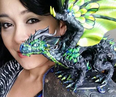 Custom Built Shoulder Dragons