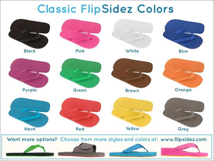 Custom Wedding Flip Flops