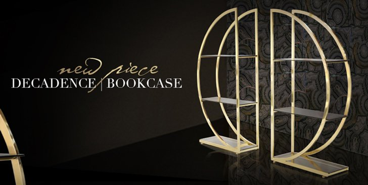 Decadence Bookcase