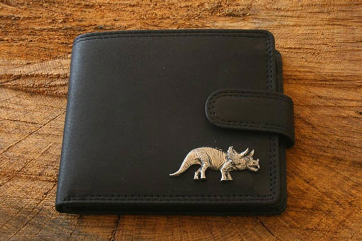 Dinosaur KR Leather Wallet