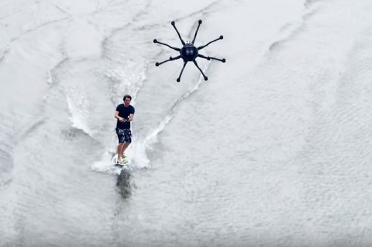 Drone Surfing Systems