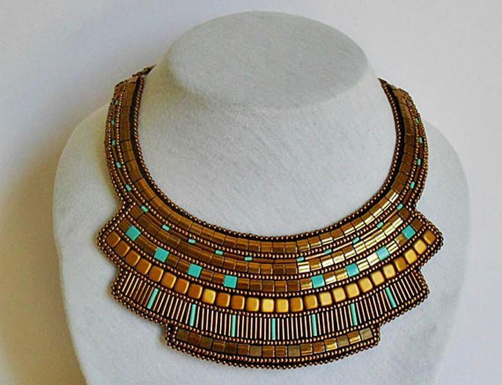 Egypt Styled Statement Necklace