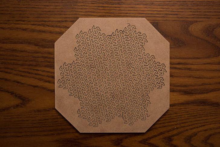 Fractal Jigsaw Puzzle