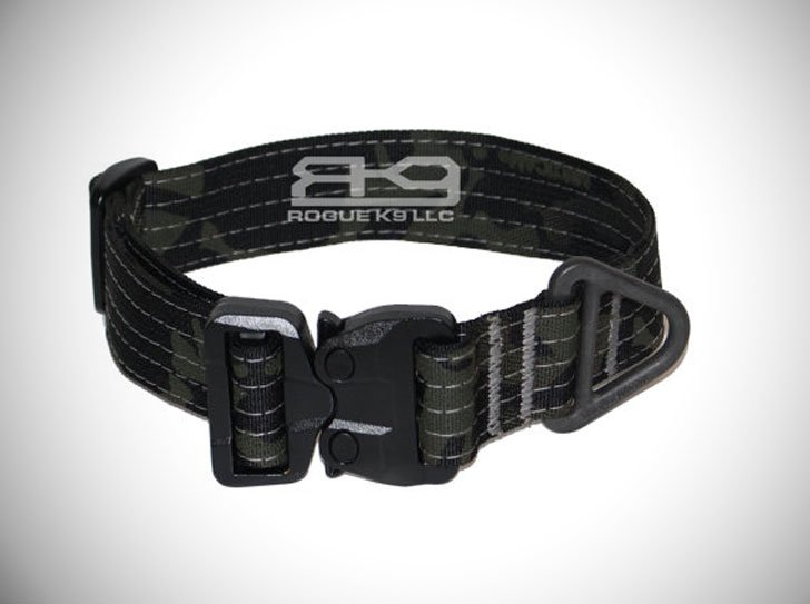 GT COBRA V-Ring Tactical Dog Collar