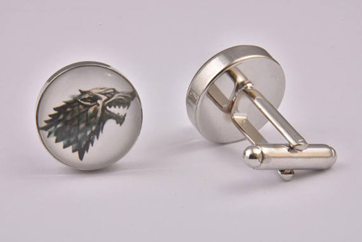 Game Of Thrones House Stark Cufflinks - cool cufflinks