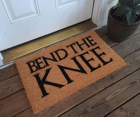 Game of Thrones Bend The Knee Doormat