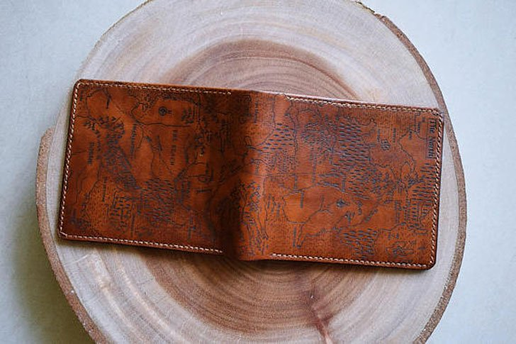 Game of Thrones Map Leather Wallet