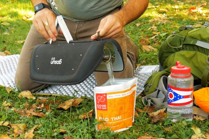 GoSun Solar-Powered Cooker and Water Boiler