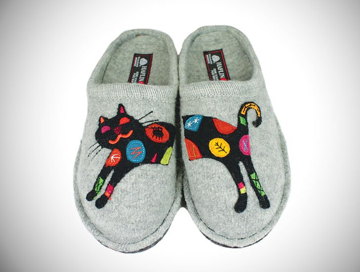 Haflinger Cat Slippers
