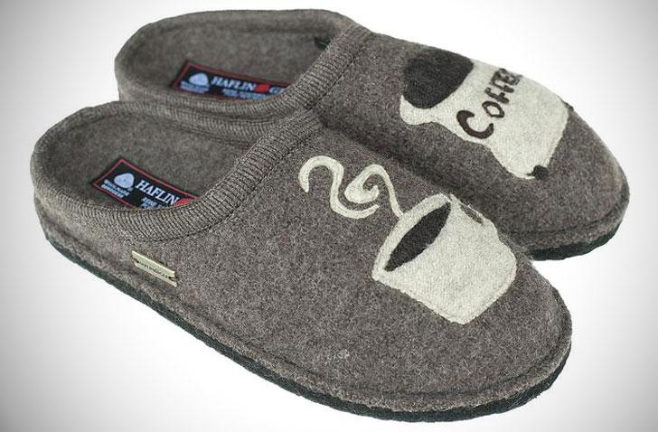 Haflinger Coffee Slippers