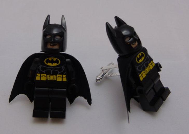 Handmade Batman Lego Cufflinks