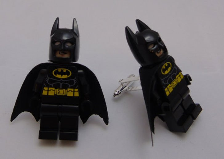 Handmade Batman Lego Cufflinks