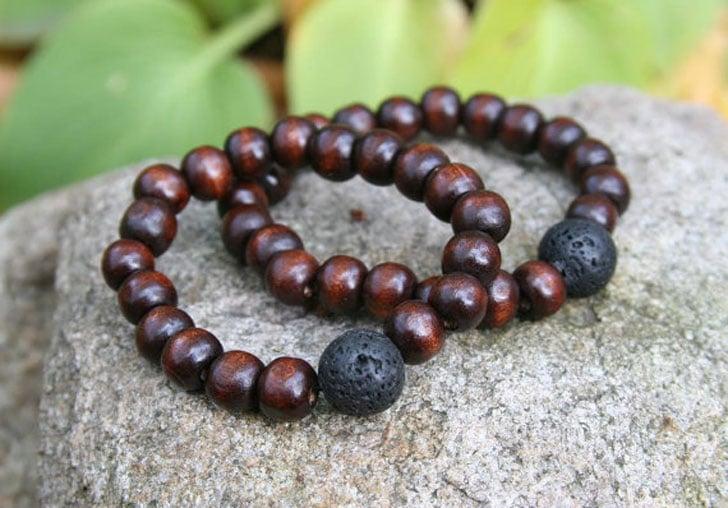 His and her Yogi Inspired Buddha Partner Bracelets