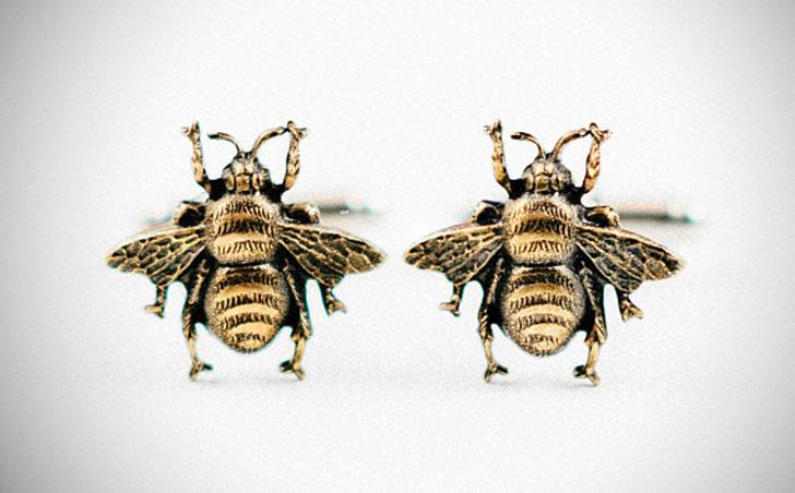 Honey Bee Cufflinks