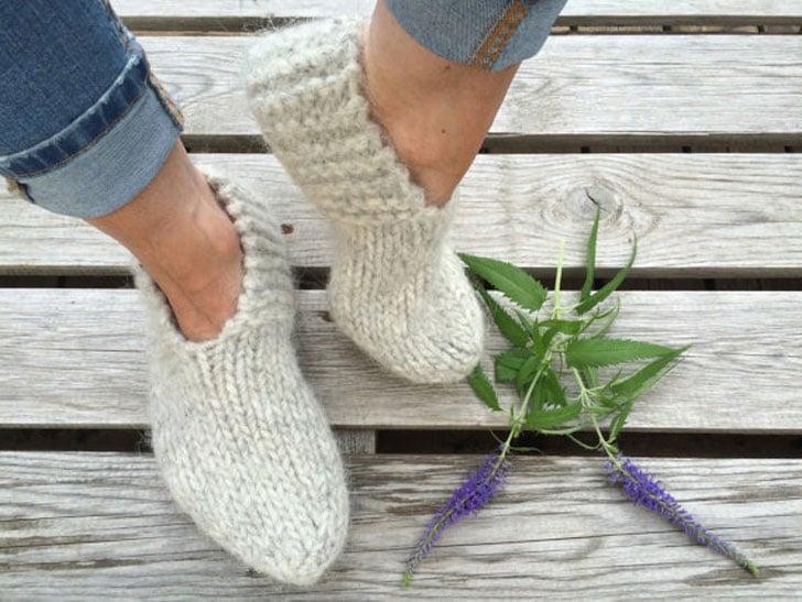 Icelandic Wool Slippers