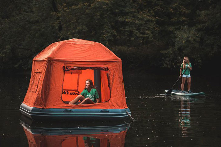Inflatable Floating Water Tent