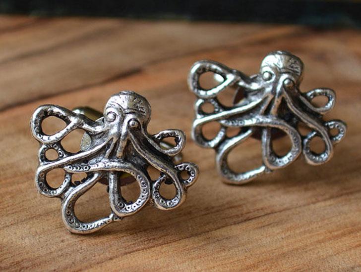 Kraken Octopus Cufflinks