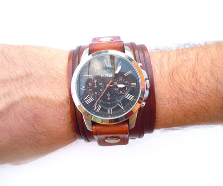 Leather Watch Cuff