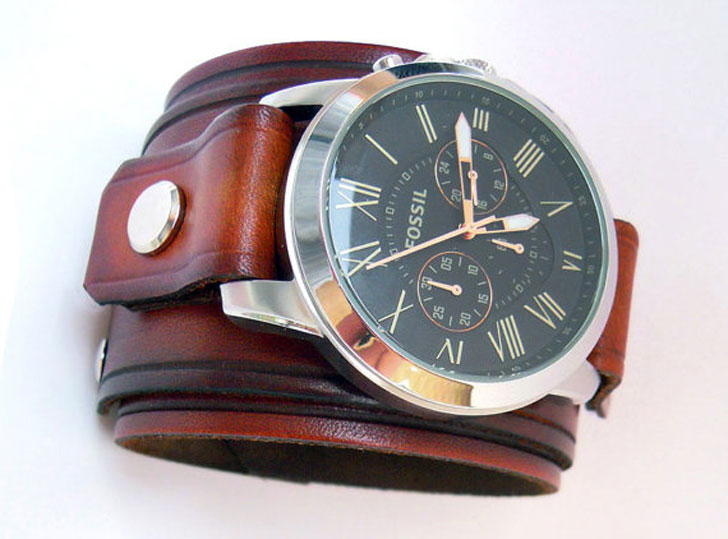 Leather Watch Cuff