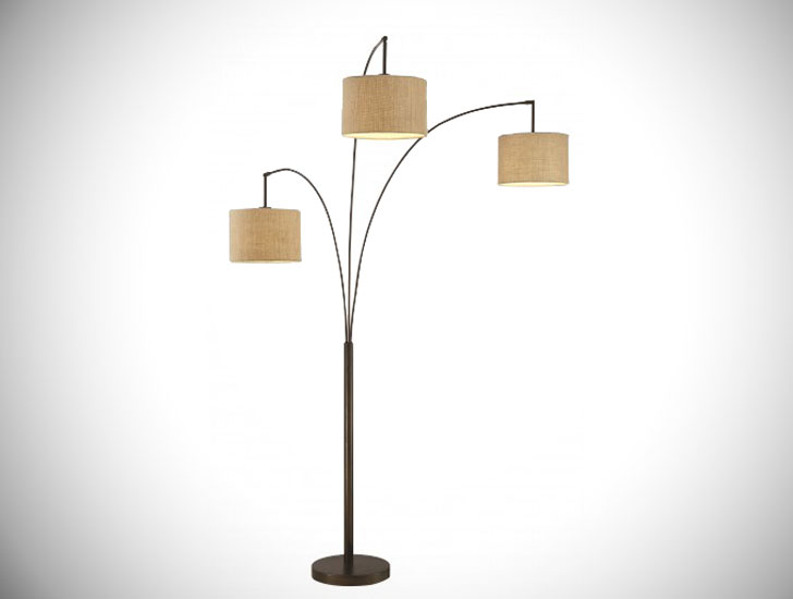 Lumiere LED Arched Floor Lamp