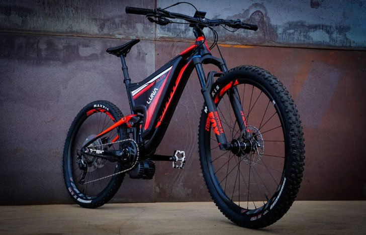 Luna Fusion Crusher 3 E-Bike