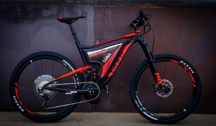 Luna Fusion Crusher 3 E-Bike - coolest electric bikes - cool e bikes