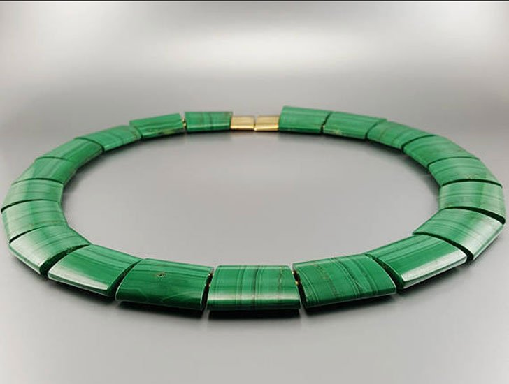 Malachite Statement Necklace