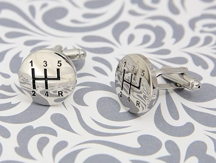 Manual Car Cufflinks