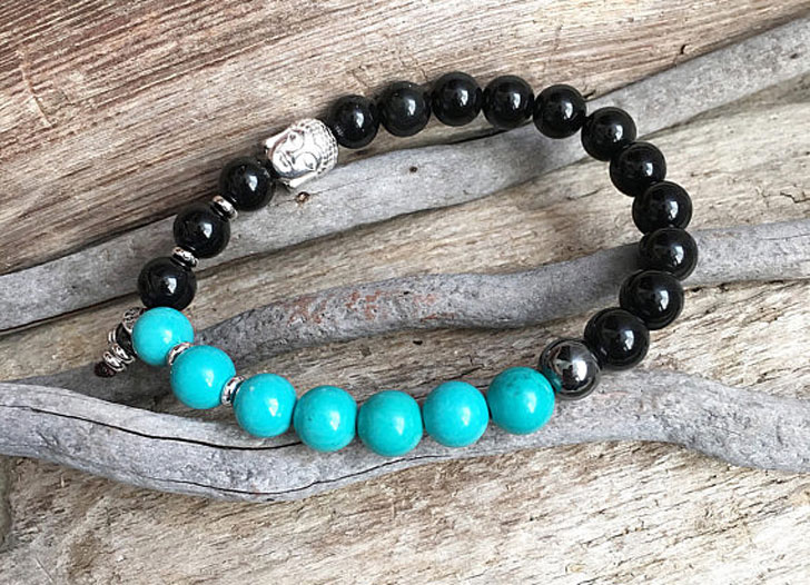 Men's Native Soul Mala Bracelet