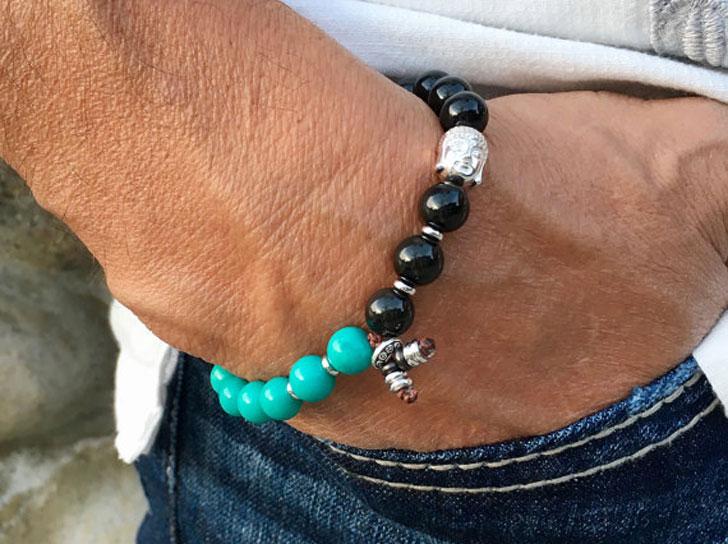 Men S Native Soul Mala Bracelet