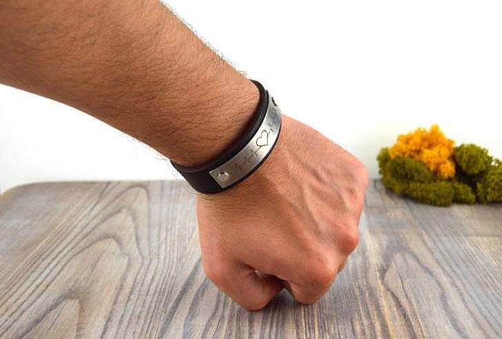 Mens Romantic Pulse Bracelet