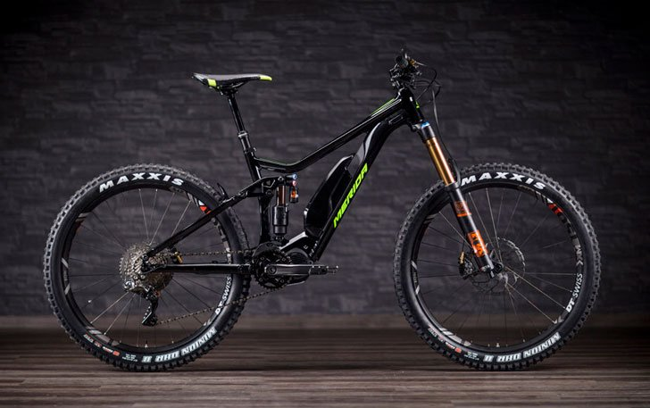 Merida EBig Trail Electric Mountain Bike - coolest electric bikes