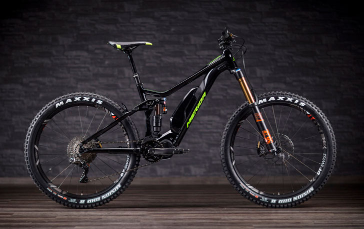 Merida EBig Trail Electric Mountain Bike - coolest electric bikes