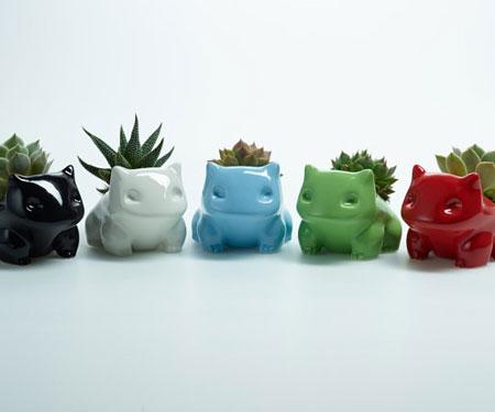 Mini Monster Succulent Pots