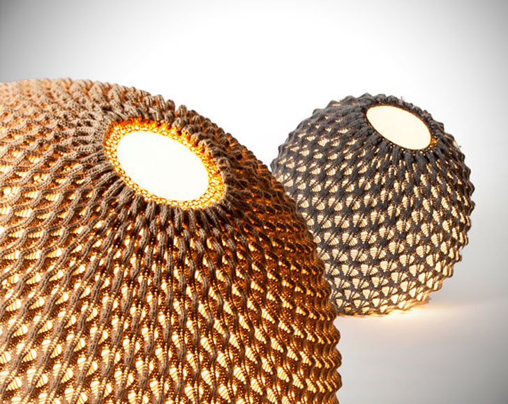 Modern Knitted Floor Lamps