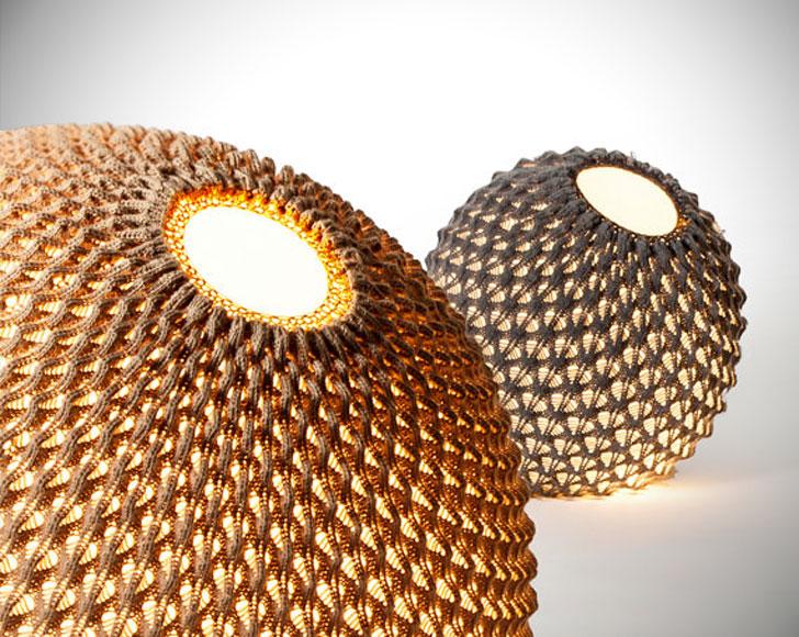 Modern Knitted Floor Lamps