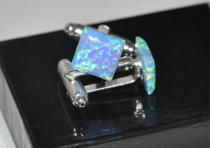 Opal Gemstone Cufflinks