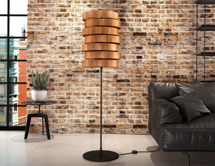 Oreol Handmade Industrial Floor Lamp - cool floor lamps