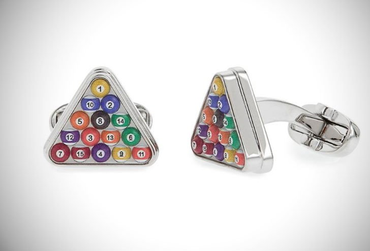 Paul Smith Pool Ball Cufflinks - cool cufflinks