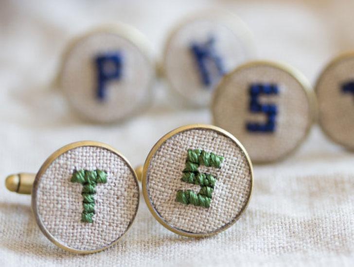 Personalized Initials Cufflinks