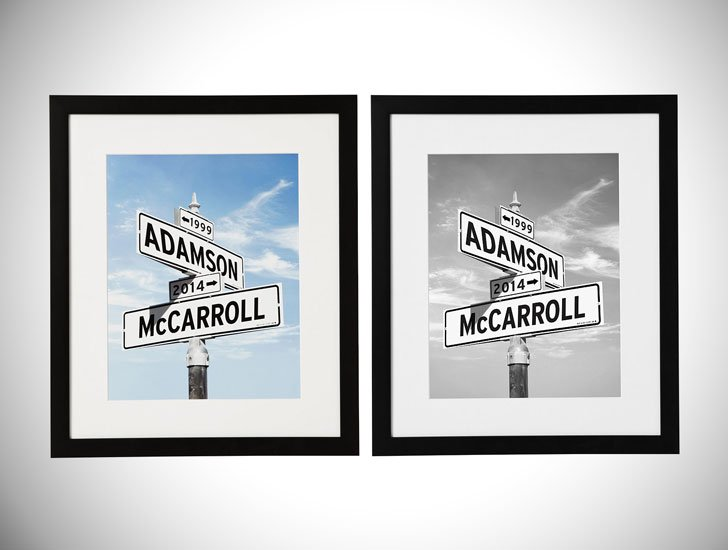 Personalized Intersection of Love Prints