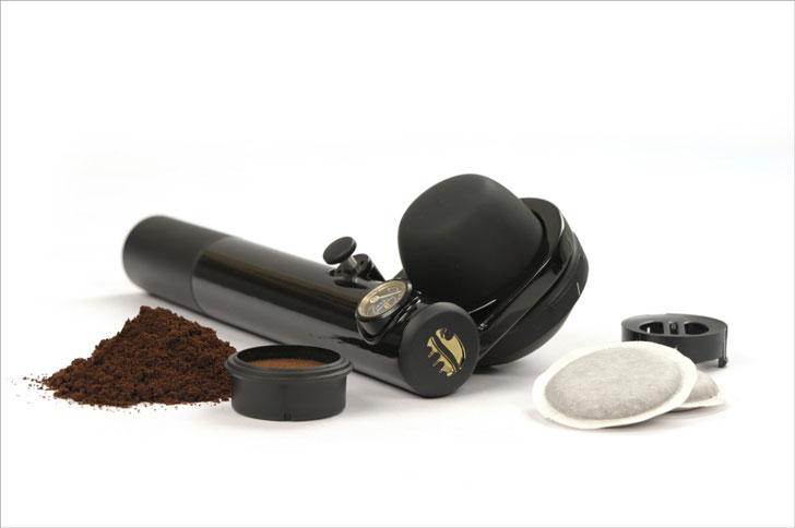 Portable Hand-Held Espresso Machine
