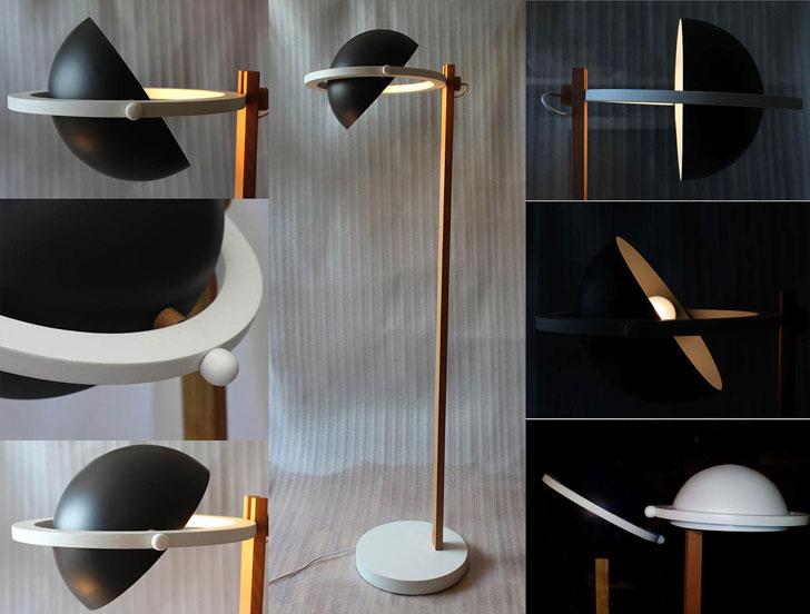 Saturn Floor Lamp - cool floor lamps
