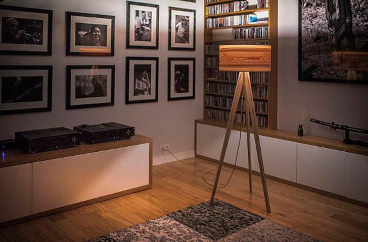 Scandinavian Tripod Lamp - cool floor lamps